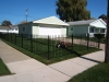 Aluminum Fence, Arched Gate, Spears, Auburn Hills