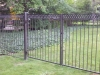 Aluminum Custom Fence with Rings, Detroit