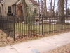 Aluminum Fence, Arched Gate, Royal Oak