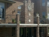 Aluminum Railings with Belly Balusters, Plymouth