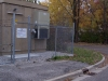 6' Galvanized Fence and Gate Enclosure with Barbed Wire