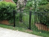 Aluminum Arched Pedestrian Gate with Finials/Aluminum Fence with Finials