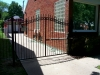 Wrought Iron Single Driveway Gate, Detroit
