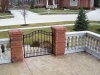 Wrought Iron Pedestrian Gate, Shelby Township