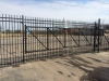 Ameristar 8' Steel Fence and Cantilever Gate