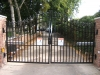 Wrought Iron Double Driveway Gate, Detroit