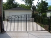 Wrought Iron Double Driveway Gate, Beverly Hills