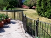 Wrought Iron Railings with Volutes and Scrolls, Rochester Hills