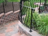 Wrought Iron Railings with Belly Balusters, Farmington