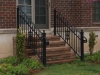 Heavy Duty Aluminum Railings with Volutes and scrolls.