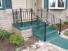 Wrought Iron Railing with Volute and Scrolls,Troy